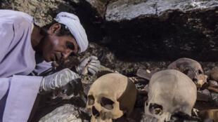 کشف گور و مومیایی یک زرگر مصری