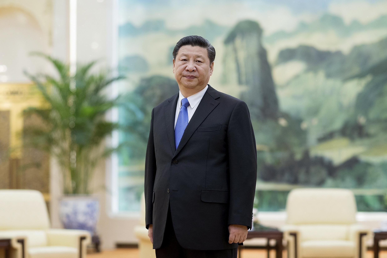 Ông Tập Cận Bình, một trong các lãnh đạo bị nghi có liên quan đến việc biển thủ tài chính thông qua công ty luật Panama Mossack Fonseca. Ảnh chụp ngày 25/03/2016 tại Bắc Kinh