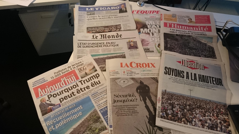 Diários franceses 19.07.2016