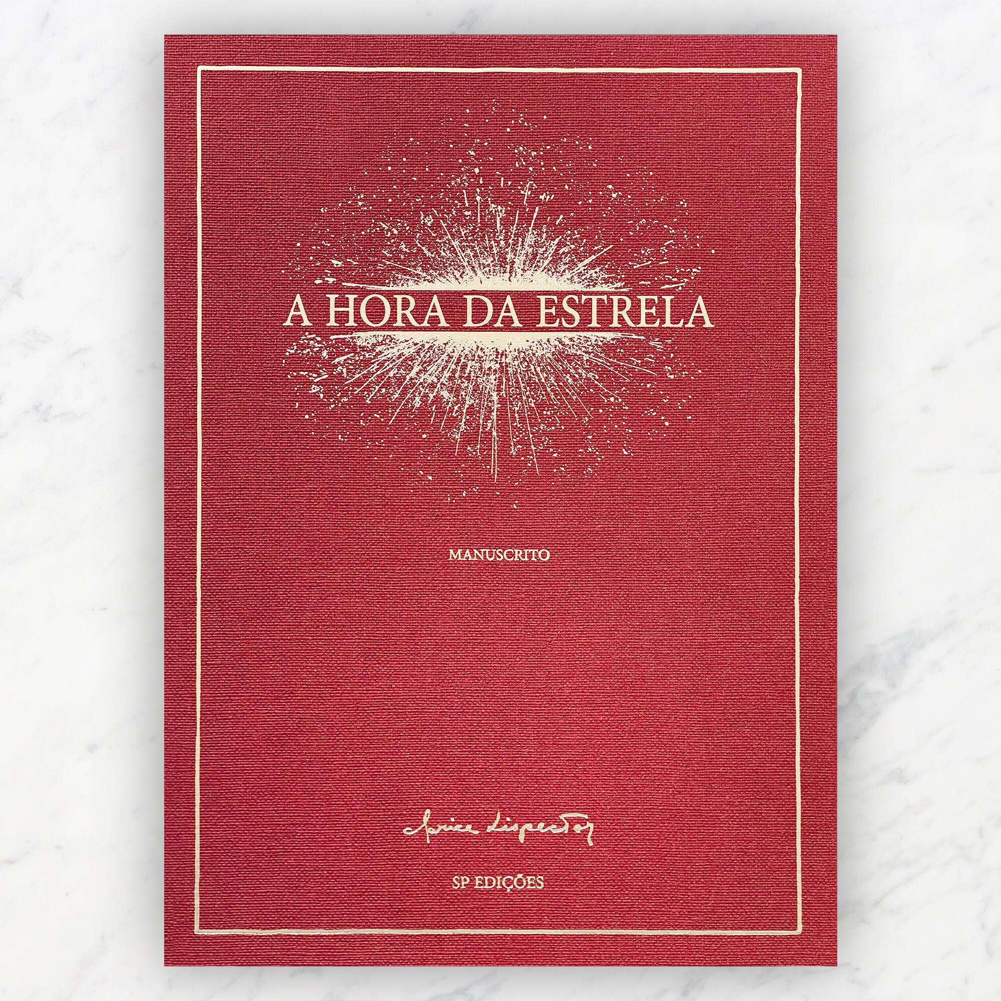 """Manuscrito de """"A Hora da Estrela"""", de Clarice Lispector, lançado pela editora francesa Saint-Pères em 3 de maio de 2021."""