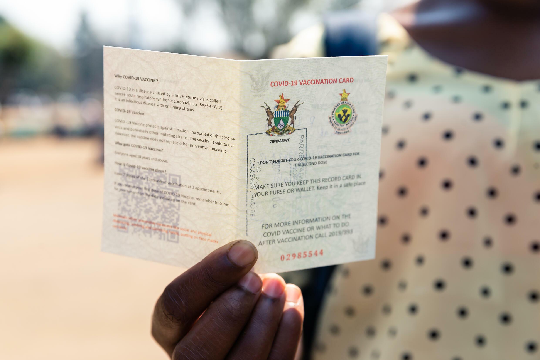 Zim Covid 19 passport