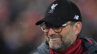 L'entraîneur allemand de Liverpool Jürgen Klopp le 11 mars 2020