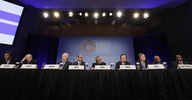 G20 finance ministers meet in Washington