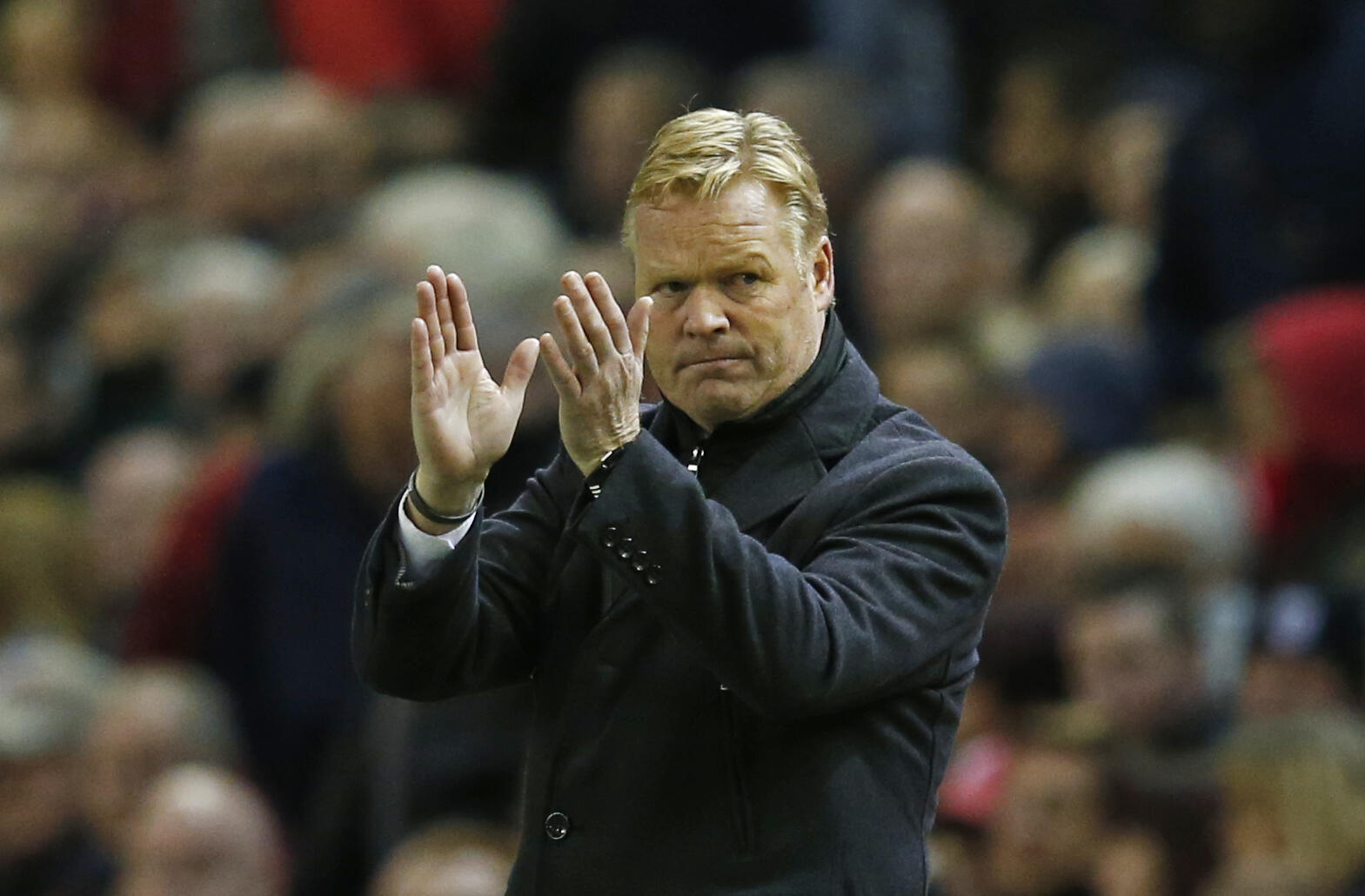 Ronald Koeman aliyekuwa kocha mkuu wa klabu ya Southampton.