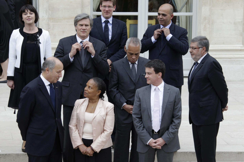 Новые министры Франции, Париж, 17 мая 2012 года