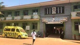 Hospital Simão Mendes, em Bissau.