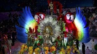 Kasaitaccen bikin rufe wasannin Olympic a filin wasan na  Maracana dake birnin Rio a Brazil