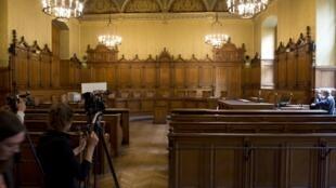 Vue générale du tribunal de Paris où doit s'ouvrir le 21 septembre 2009 le procès de l'affaire Clearstream.