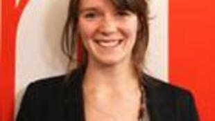 Cécile Debarge, lauréate de l'édition 2011 du Prix Charles Lescaut / RFI