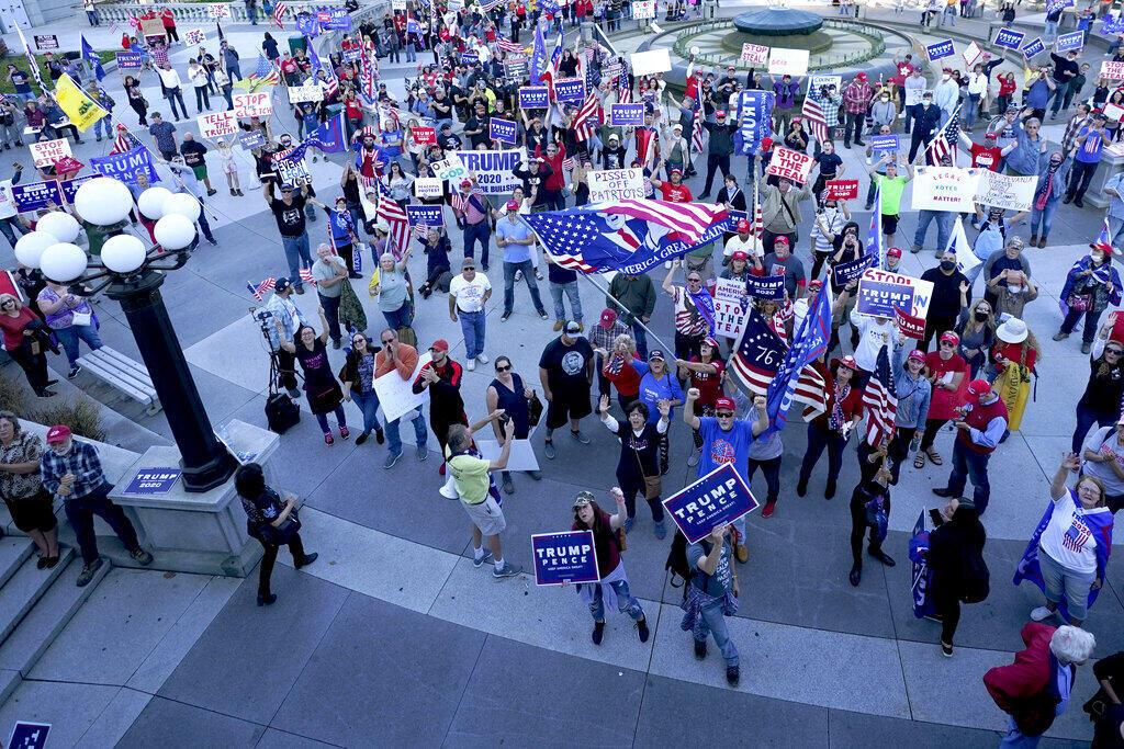 US – Élection présidentielle – Donald Trump - manifestation