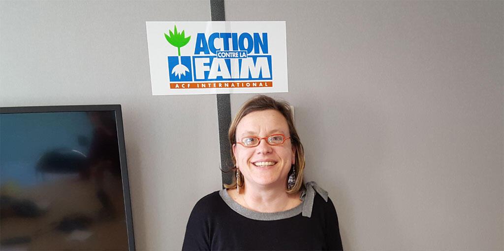 Sabine Rouhier, référente Plaidoyer à Action Contre la Faim.