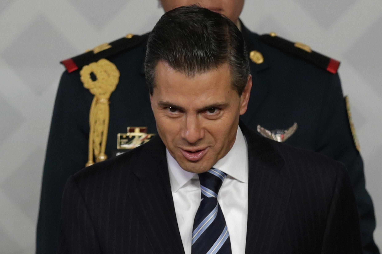 El presidente mexicano, Enrique Peña Nieto, el pasado 21 de noviembre de 2014.