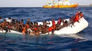 Jami'an Italiya sun ceto 'Yan ci rani da dama a tekun Lampedusa