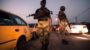 Patrouille des forces de l'ordre au Cameroun. (Image d'illustration)