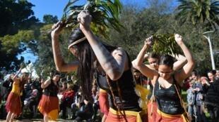 Des indigènes australiens lors de l'ouverture de la National Aborigines and Islanders Day Observance Committee, le 6 juillet 2015 (image d'illustration).
