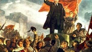 Ленин на броневике. Картина И.М.Тоидзе
