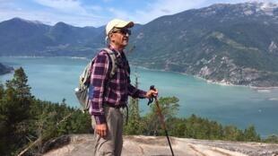 Kavous Seyed Emami, universitaire et écologiste irano-canadien de 63 ans, sur une photo procurée par sa famille.