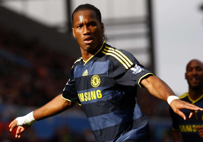 Septième but de la saison pour Didier Drogba en Premier League.