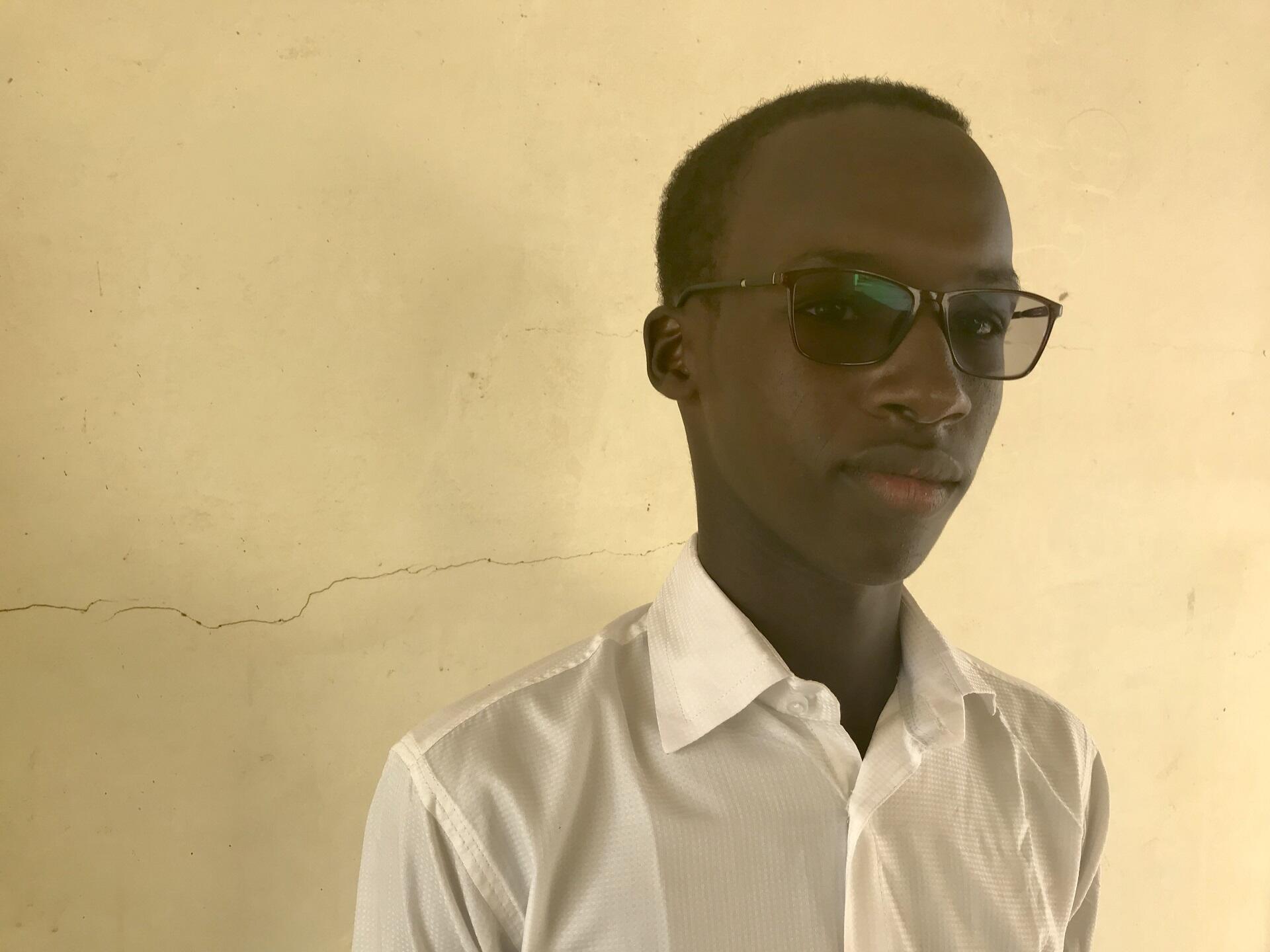 Yero Sarr, originaire Thiès au Sénégal, fondateur de la branche sénégalaise de «Fridays for the Future».