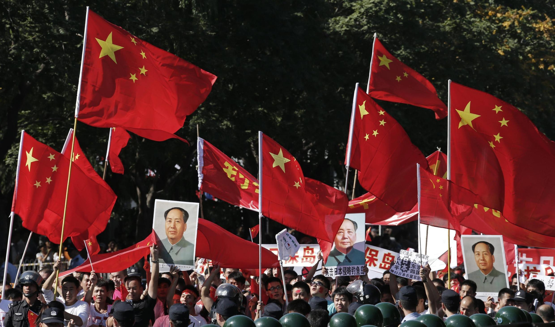 2012年9.18北京的反日游行