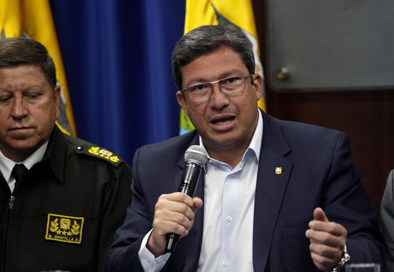 """""""Tres trabajadores del Comercio fueron secuestrados el lunes, en horas de la mañana, en la parroquia Mataje, del cantón San Lorenzo"""", informó el ministro del Interior de Ecuador, César Navas."""