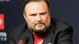 NBA休斯顿火箭队前总经理莫雷资料图片