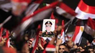 Des dizaines de milliers de manifestants, dans les rues du Caire mercredi soir. «On va fêter ça toute la nuit», a déclaré un manifestant à l'envoyé spécial de RFI au Caire.