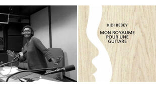 Kidi Bebey et son nouveau roman « Mon Royaume Pour Une Guitare ».
