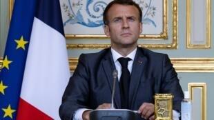 Emmanuel Macron s'exprimera ce vendredi mais pas dans une allocution télévisée.