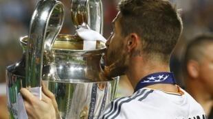 A shekara ta 2014 Real Madrid da Atletico sun kara a wasan karshe na gasar cin kofin zakarun Turai, amma Real ce ta yi nasara.