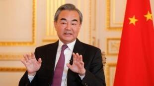 中国外交部长王毅资料图片