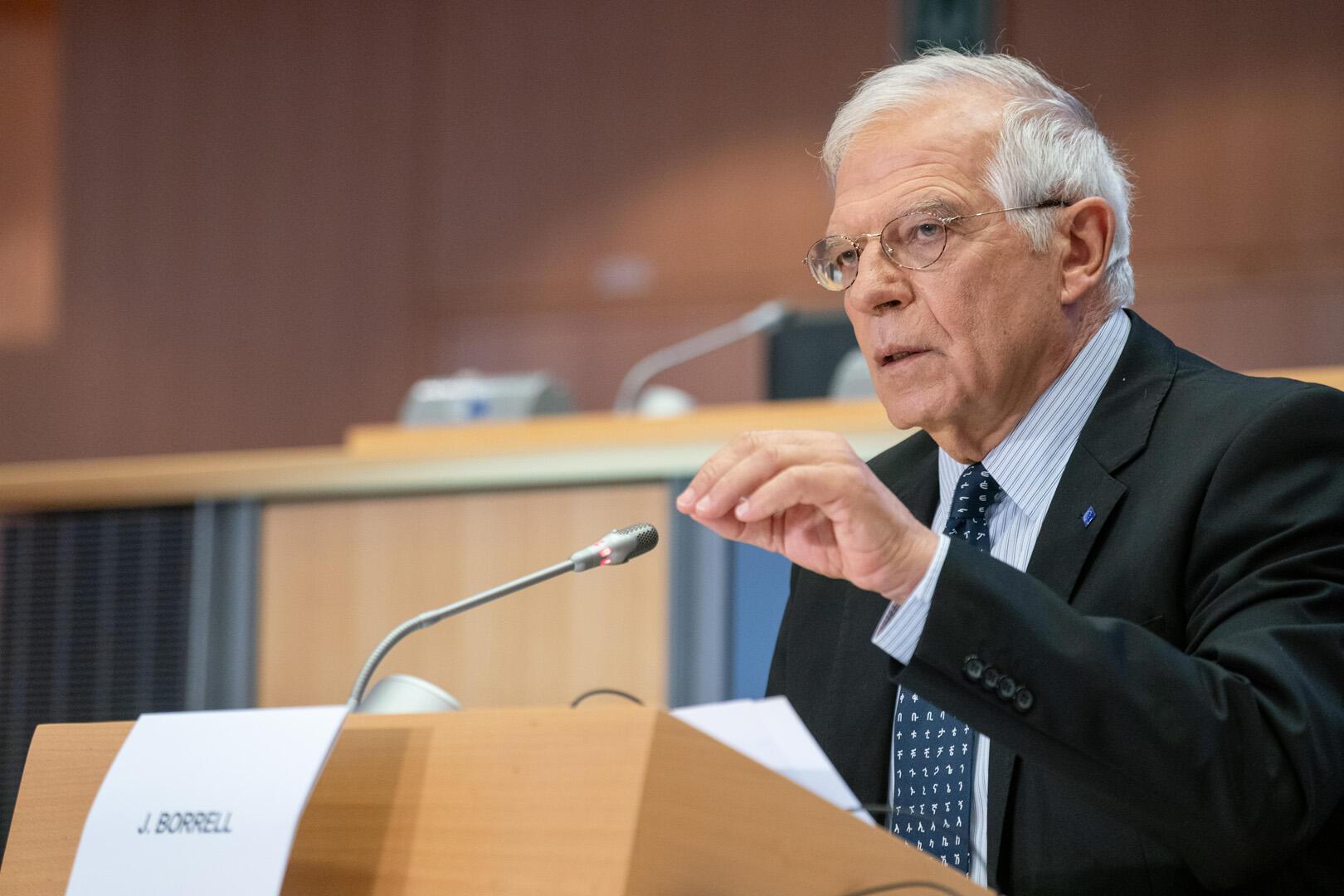 چوزپ بورل نمایندۀ سیاست خارجی اتحادیۀ اروپا