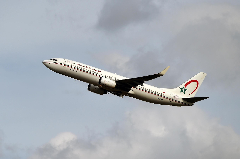 Boeing 737 NG / Max ya shirika la ndege la Morocco la Royal Air Maroc.