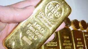 Os lingotes de ouro desapareceram do bagageiro do avião da Air France.