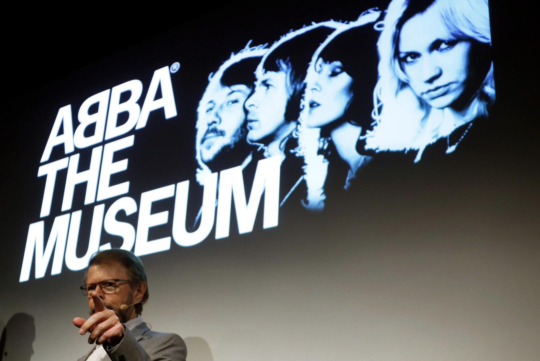 Um dos ex-integrantes do quarteto ABBA, Bjorn Ulvaeus, na inauguração do museu da banda, no dia 6 de maio de 2013.