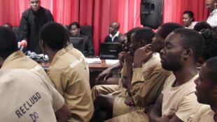 Julgamento dos activistas angolanos começou em Luanda