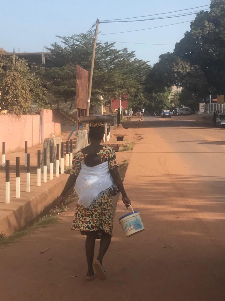 Mulher guineense em Bissau