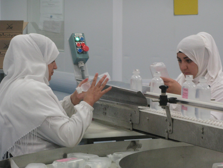 L'entreprise IMC produit du matériel médical à destination des hôpitaux algériens. Photo prise le 28 juin 2018.