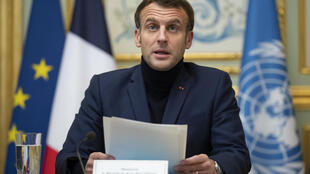 "French President Emmanuel Macron said, ""The commitments... have not been respected,"" at an international conference for humanitarian aid attended by foreign and international donors, as well as Lebanese non-governmental organisations"
