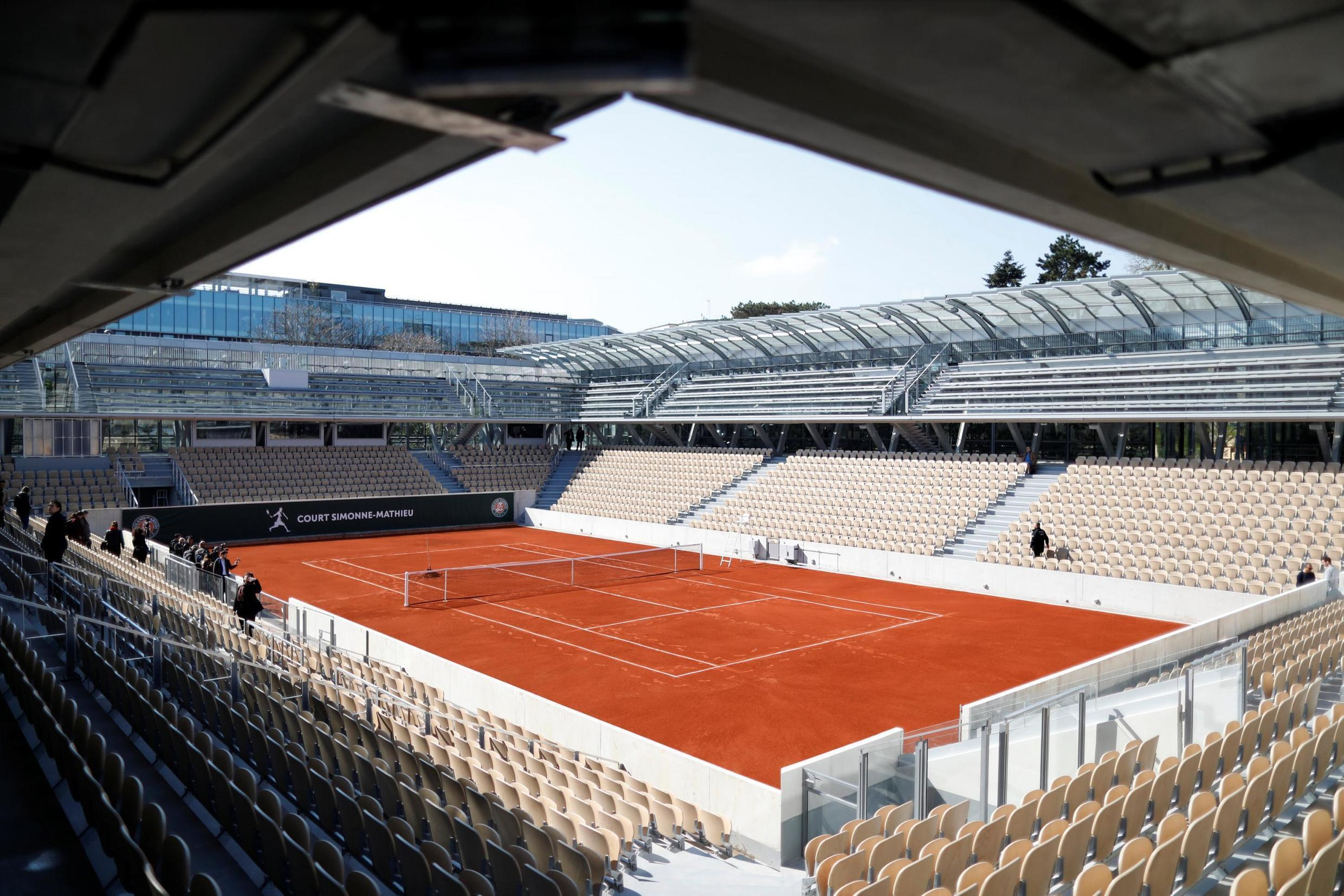 Court Simonne-Mathieu will be the third largest stadium at the French Open in Paris.