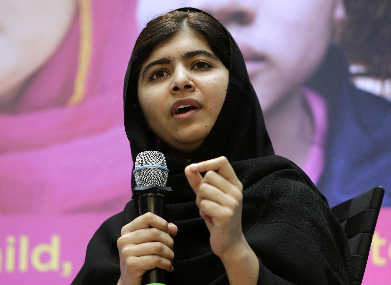 Malala Yousafzai mwanaharakati wa haki za elimu kwa wasichana.