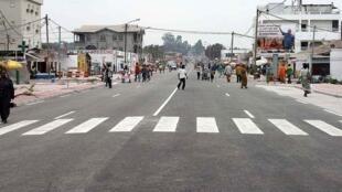 Avenue de la Paix, Brazzaville.