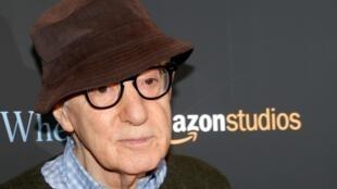 Le réalisateur Woody Allen arrive pour une projection du film «Wonder Wheel» à New York, le 14 novembre 2017.