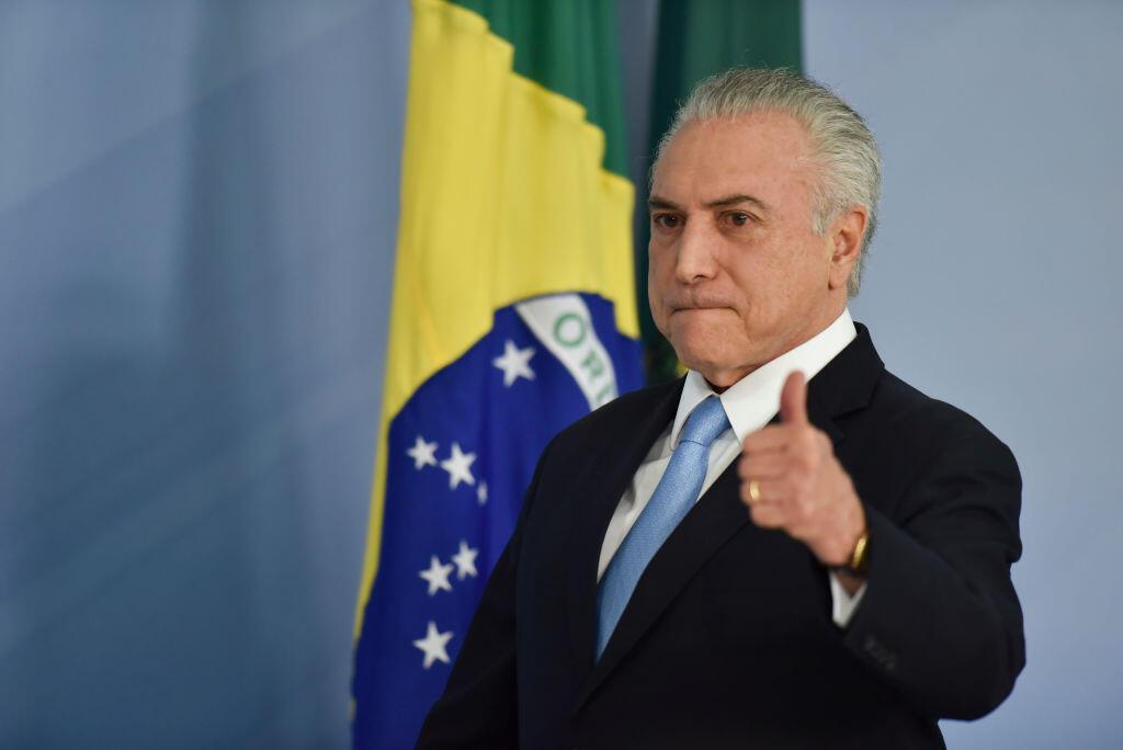 Rais wa Brazil Michel Temer akabiliwa na mashtika ya rushwa.