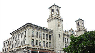 La gare centrale de La Havane à Cuba.