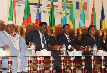 Kikao cha marais wa nchi wanachama wa Jumuiya ya Uchumi ya Afrika ya Kati, mjini N'Djamena
