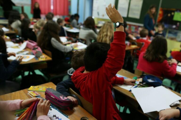 Une classe de primaire. (Image d'illustration)