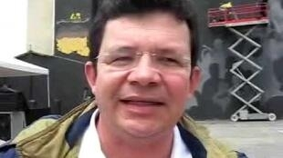 El líder de Unión Patriótica, Omer Calderón.