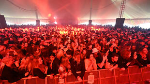 The festival was part of a pilot project by the UK government to test crowd safety at live events