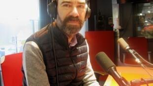 Jaime Rosales en nuestros estudios.